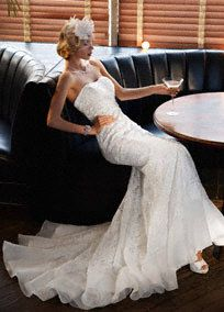 Stylish Mermaid and Trumpet Styled Wedding Gowns and Dresses by David's Bridal