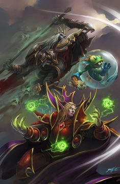 ArtStation - Heroes of the Storm art contest, Aleksei Grechenyuk
