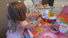 Verjaardagsfeestje van de derde verjaardag van mijn peuter! Fotoverslag, feestje in Peppa Pig thema voor een meisje.