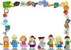 34 Free borders and frames - Aluno On Kindergarten Portfolio, Kindergarten Learning, Borders For Paper, Borders And Frames, School Binder Covers, Certificate Background, Certificate Border, School Border, Kids Awards