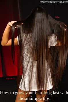 How to grow your hair long fast with these simple tips