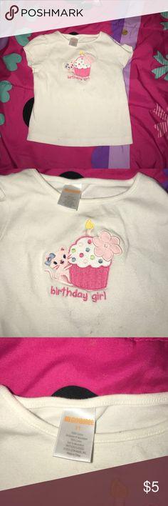 Gymboree T-shirt Gymboree T-shirt happy birthday girl size 3 t Gymboree Shirts & Tops Tees - Short Sleeve