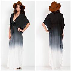 Ombré dress M Dresses