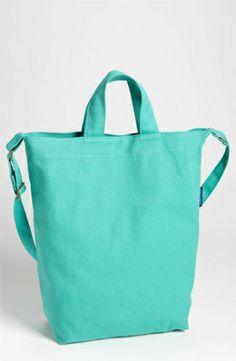 Style: Eleven Cute Bags To Tote  (Pastel jade: Baggu Canvas Tote, via Nordstrom)