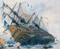 'Vasa', pride of the Swedish Navy, was built too top-heavy and sank on her first voyage in Weird History ( Steampunk Ship, Old Sailing Ships, Pirate Art, Naval History, Military Diorama, Strange History, Historical Art, Tall Ships, Ship Art
