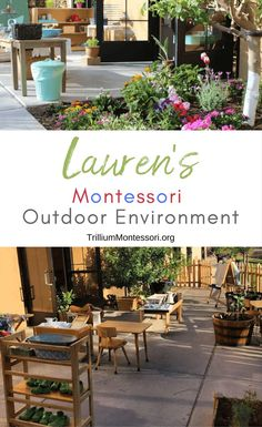 Lauren's Montessori Classroom: The Outdoors - Trillium . can i claim montessori school tuition