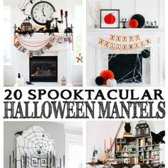 Spooktacular Halloween Mantels