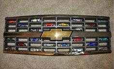 Hot Wheels Racing League: Hot Wheels Display - Chevy Grill #hotwheels
