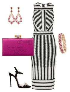 """Untitled #225"" by arta13 on Polyvore featuring Topshop, Yves Saint Laurent, Bavna, Effy Jewelry and Dsquared2"
