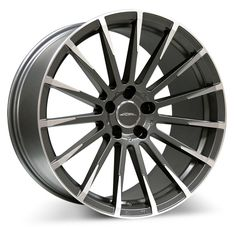 Staggered Ace Wheels Devotion Matte Mica Grey with Machined Face Rims Truck Wheels, Wheels And Tires, Tires For Sale, Aftermarket Wheels, Nissan Maxima, Custom Wheels, Alloy Wheel, Grey, Face