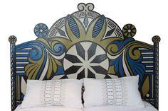 Respaldo cama.  Diseñado por Lucas Rise para PEHACHE.