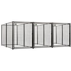 The AKC welded wire kennel delivers the highest quality, performance and appeal compared to other leading dog kennels. This kennel will provide your pet a comfortable and safe environment. This comes complete with instructions for an easy clean up.