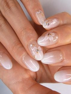 subtle nail art: for those who don't want bright colors but still want something different