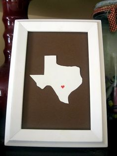 Houston, TX Map Art