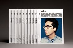 The lados magazine cover is set up in a dense typography structured by an orthogonal layout. The main idea is to determine specific spaces for specific information, the title, the contents, the issue, the photography and name of the band in cover, to get …