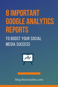 Google Analytics helps marketers dive deeper and really understand who their target audience is, where how their target audience finds the website, how they use the website and how helpful the website is. Here are the most important google analytics reports you need to boost your social media success. #googleanalytics #monitoring #socialmediamonitoring #googleanalyticsreports #marketingmetrics #socialmediareporting #socialmediatips #socialmediahacks #socialmediamarketing… The Marketing, Content Marketing, Online Marketing, Social Media Marketing, Social Media Analytics, Social Media Tips, Google Analytics Report, Social Business, Competitor Analysis