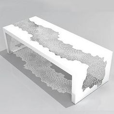 Laser cut coffee table