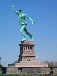The Oncoming Statue