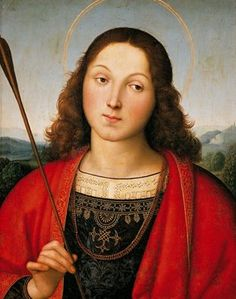 St. Sebastian, Raphael. 1501