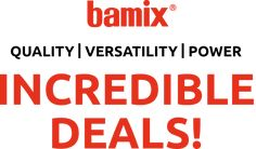 bamix® USA Hand Blender, The Inventors, Cooking Tools, Food Processor Recipes, The Incredibles, Blenders, Usa, Diy Kitchen Appliances, Kitchen Gadgets