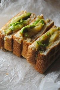 Avocado Grilled Cheese Sandwich. I tried it and it is SO good. I would recommend it to anyone!
