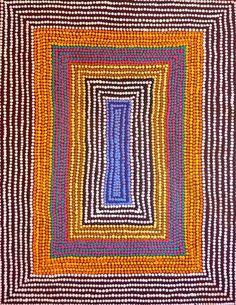 Roslyn Napaljarri Jones ~ Ngurlu Jukurrpa (Native Seed Dreaming)
