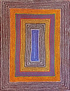 Roslyn Napaljarri Jones ~ Ngurlu Jukurrpa (Native Seed Dreaming)