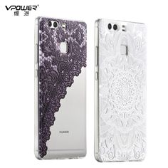 for huawei p9 case Vpower 3d cartoon back cover,  for huawei p9 Silicone tpu Case house + screen protector Transparent-in Phone Bags & Cases from Phones & Telecommunications on Aliexpress.com | Alibaba Group