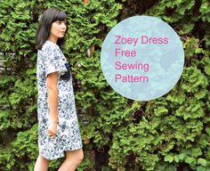 Free Zoey Dress pattern