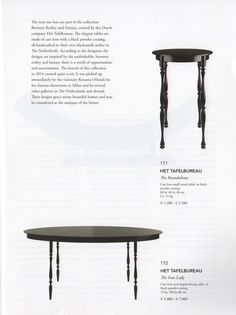 Het Tafelbureau presented in Art Europe's Preview Sale -ONE-