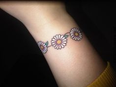 Daisy Chain Tattoo Meaning...