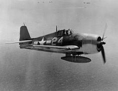 """Hellcat aircraft from is flying in WestPac. The pilot was Gene Valencia. This photograph of is in the folder for some reason."""" Circa (National Museum of Naval Aviation: Grumman Aircraft, Ww2 Aircraft, Fighter Aircraft, Military Aircraft, Fighter Jets, Grumman F6f Hellcat, Us Navy Aircraft, Aircraft Photos, Ww2 Planes"""