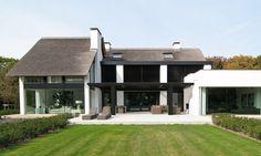 bob manders architectuur / droomhuis villa, oisterwijk