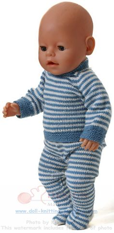 Baby Knitting Patterns Girl knit dolls instruction – 'everyday clothes' for my doll Baby Knitting Patterns, Knitting Baby Girl, Knitted Doll Patterns, Knitted Dolls, Smocked Baby Dresses, Knit Baby Dress, Knitting Dolls Clothes, Doll Clothes Patterns, Baby Born Kleidung