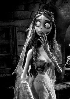 "nightmare-of-tim-burton: ""Nightmare "" Estilo Tim Burton, Arte Tim Burton, Tim Burton Stil, Tim Burton Kunst, Film Tim Burton, Tim Burton Characters, Emily Corpse Bride, Tim Burton Corpse Bride, Corpse Bride Tattoo"