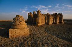 URUK - Ruines du Temple de Gareus aujourd'hui