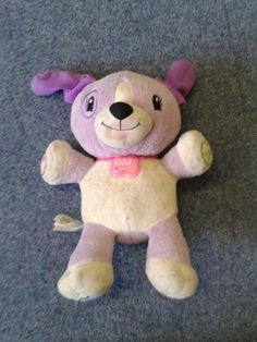 """FOUND in HOVE PARK, EAST SUSSEX, UK (8 July 2013)  This cuddly stuffed dog teddy toy """"Violet"""" was found by Brighton & Hove City Council's Playbus contact: https://twitter.com/BHCCplaybus"""