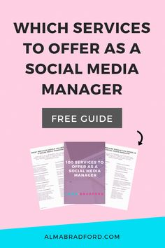 Want to become a Social Media Manager or start a Marketing Agency? This article explains the different services you can offer in your social media management business. Social Media Analytics, Social Media Services, Social Media Tips, Social Media Marketing, Marketing Plan, Facebook Marketing, Marketing Digital, Online Marketing, Pinterest Marketing