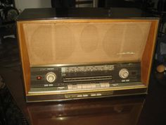 SABA Freiburg 125 stereo tube radio with automatic motortuning by Area51Junktion on Etsy