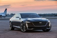 Stunning! I like the side line and clean rear end. The Cadillac Escala Concept