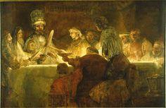 Rembrand Conspiracy of Claudius Civilis 1661