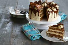 Tort cu nucă și ciocolată   Laura Laurențiu - rețetă pas cu pas Tiramisu, Cheesecake, Ice Cream, Ethnic Recipes, Desserts, Food, No Churn Ice Cream, Tailgate Desserts, Deserts