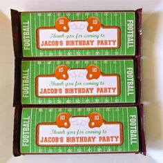 Football Birthday Party Ideas | Photo 11 of 13 | Catch My Party