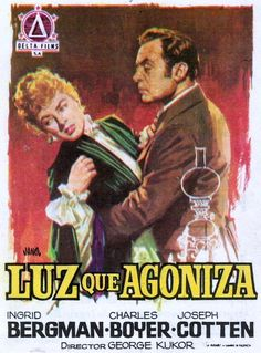 Gaslight 1944 - Luz que agoniza Ingrid Bergman, Cinema Posters, Movie Posters, Theater, Music For Studying, Swedish Actresses, A Wrinkle In Time, Film Base, Streaming Movies