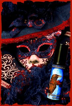 CARNIVALE ROUGE Perfume Oil GOTHIC by DeepMidnightPerfumes on Etsy, $12.00