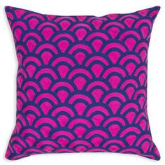 Patterned Pillows - Jaipur Scales Throw Pillow