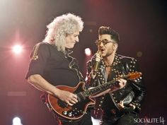 Adam Lambert And Queen Perform At The O2 World In Berlin / 2
