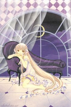 From the Chobits anime. I always loved her hair T.T wish I had it.