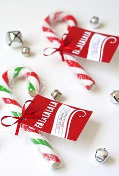 Free Printable Caroling Gift Tag at PagingSupermom.com