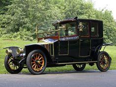 1912 Renault Type-CB Coupe de Ville by Kellner-et-ses-Fils retro luxury h